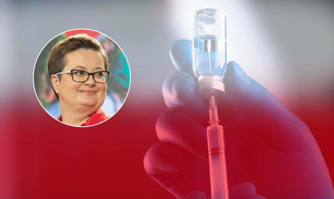 Katarzyna Lubnauer polska szczepionka