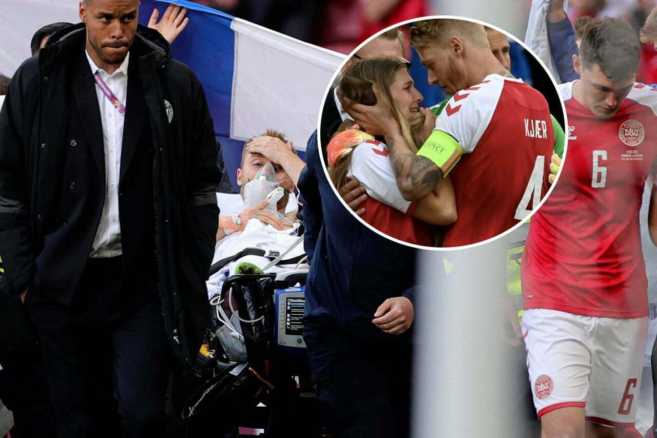 Christian Eriksen szczepionka powody zasłabnięcia Dania Finlandia Euro 2020